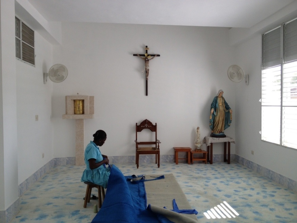 Missionaries of Charity will move into a new building (3/6)