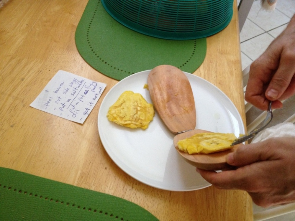 Learning to cook Haitian food (2/3)