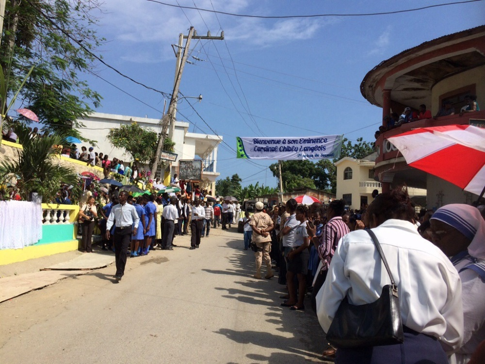 Jacmel welcomes Cardinal Chibly Langlois (1/6)