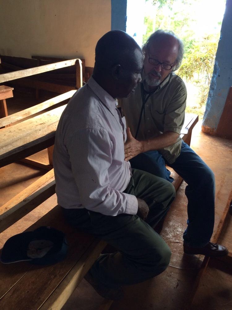 Our friend, Dr. JeanPaul Bonet, visits us in Jacmel (4/5)