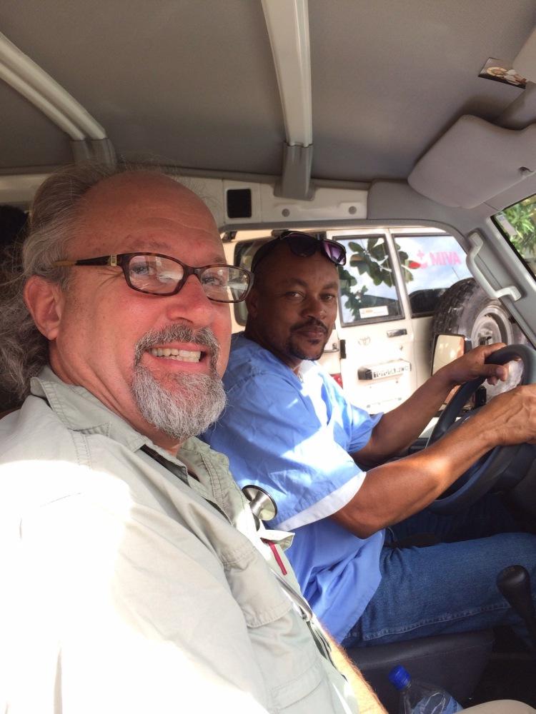 Our friend, Dr. JeanPaul Bonet, visits us in Jacmel (1/5)