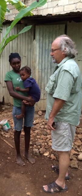 Our friend, Dr. JeanPaul Bonet, visits us in Jacmel (2/5)